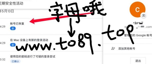 www.to89.top谷歌账号异常验证
